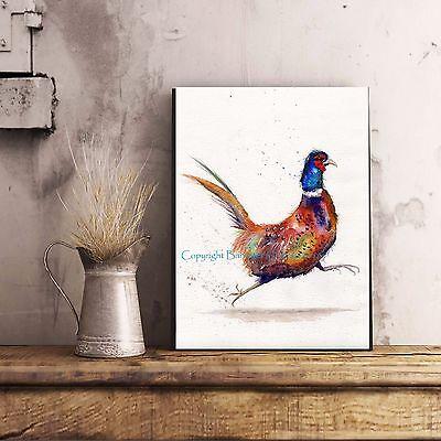 BIRD PICTURE WILDLIFE WINTER ROBIN FINE ART//GICLEE PRINT WALL ART PAINTING