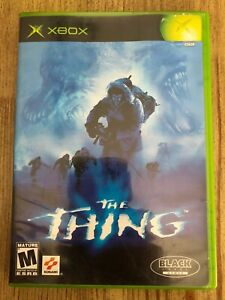The-Thing-Microsoft-Xbox-Complete-W-box-amp-Manual