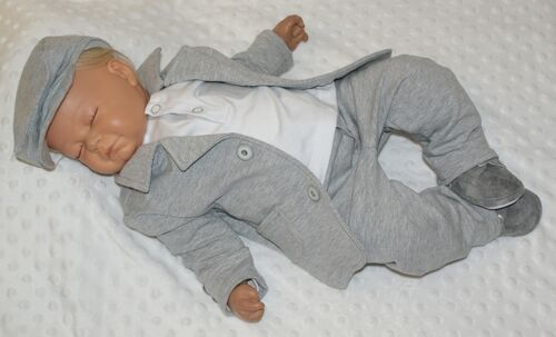 taufanzug-nuevo muy bonito jersey traje Baby traje nº 0ax3 firmemente traje