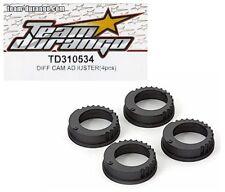 RC Team Durango TD310421 Composite Layshaft Pulleys DETC410 v2 1//10 Touring Car
