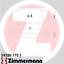 ZIMMERMANN Bremsbeläge Bremsklötze 24336.175.1 vorne für SUBARU TOYOTA