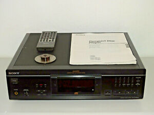 Sony CDP-XA5ES High-End CD-Player in Schwarz, inkl. FB, BDA & Puck, 2J. Garantie