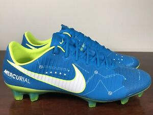 038619a32750 Nike Mercurial Vapor XI Neymar Jr FG Blue Orbit Soccer Cleats 921547 ...