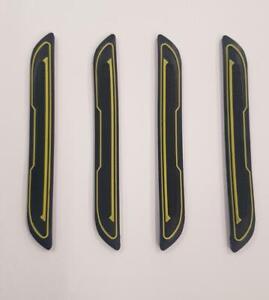 4x-protector-de-arranque-de-la-Puerta-de-Goma-Negro-Inserto-Protectores-Amarillo-DG5-se-adapta-a
