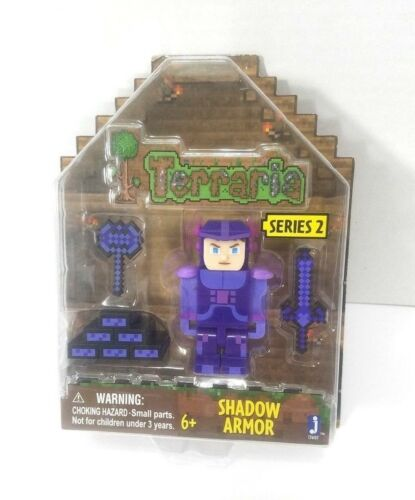 Terraria Shadow Armor Action Figure With Accessories Series 2 By Jagwares 6yo+