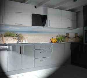Details zu KüchenRückwand AluDibond auch für L und U Küchen Spritzschutz  Küche SP330
