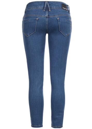 50/% OFF B15120409 Damen Eight2Nine Hose Jeans Slim Fit 3//4 Bein Knöpfe blaudenim