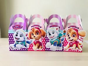 4x Animal Farm Barn Lolly Loot Bag Box Party Supplies Bunting Cake Banner Game