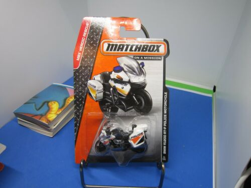 2014 MATCHBOX #73 BMW R1200 RT-P POLICE Motorcycle