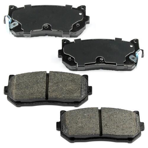 Bremsbeläge Bremsklötze hinten Kia Carens I II Clarus Shuma mit ABS