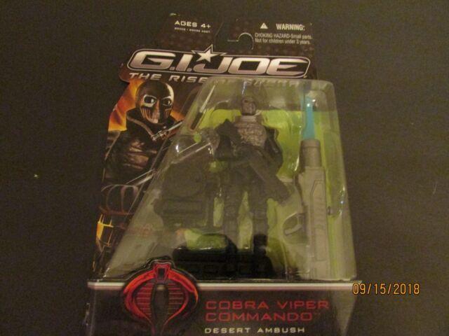 GI Joe Cobra Viper Commando Desert Ambush Action Figure 2008 The Rise Of Cobra