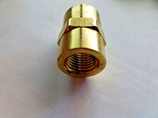 "Parker 207P-6 Brass Pipe Coupling 3//8/"" Female Pipe x 3//8/"" Female Pipe 06103-06"