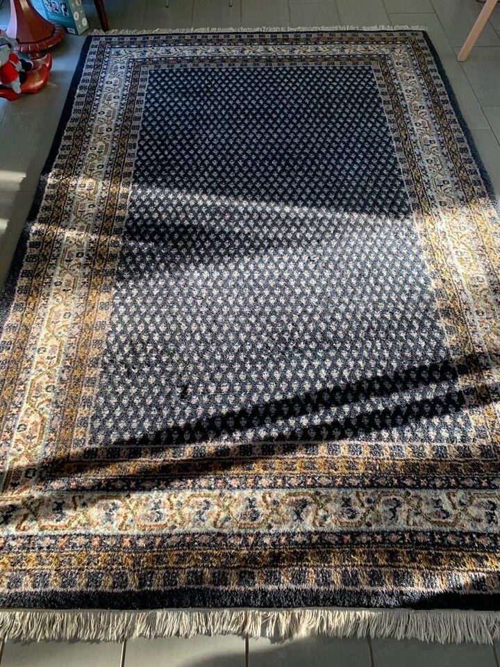 Gulvtæppe, ægte tæppe, b: 245 l: 168