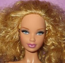 Barbie Model Muse Collector Basics Steffie Blonde Afro Curls Doll 03 OOAK Play!