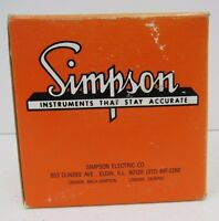 Simpson 1357 0-30 Ac Amps