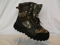 Herman Survivors (hntg 8 Rt Ww Wp) Waterrpoof Leather Insulated Mens Camo Shoe