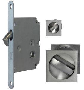 Jv829 Sliding Pocket Door Bathroom Lock Set C W 2 Flush