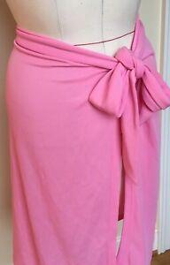 c13e63e013f9e Talbots XL Pink Bathing Suit Wrap Skirt Sarong Coverup NWT | eBay