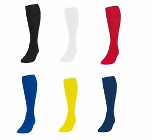 New-Plain-Football-Socks-Soccer-Hockey-Rugby-Sports-Sock-PE-Mens-Womens-Kids