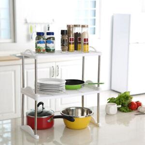 Foldable Extended Shelf For Kitchen Cabinet Storage ...