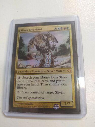 Premium Sliver deck Foil NM//Sp Sliver Overlord