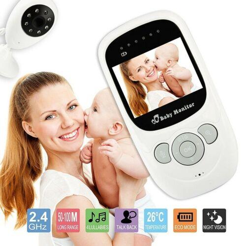 2,4/'/' Babyfone 2,4G Wireless Baby Digital Audio Video Monitor Kamera Nachtsicht