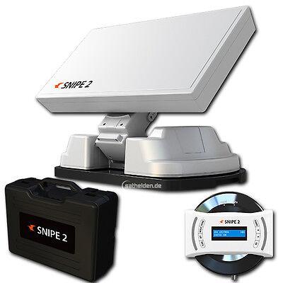 Selfsat Snipe 2 II V2 Vollautomatische Satellitenantenne AutoSkew Sat System GPS