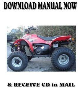 2000 Polaris Scrambler 500 Factory Repair Shop Service Manual On Cd Ebay