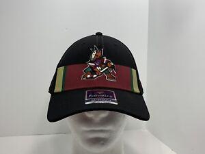 Arizona-Coyotes-NHL-Fanatics-Flex-L-XL-Fitted-Cap-Black-NEW