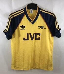 Arsenal-Away-Football-Shirt-1988-91-Adults-Medium-Large-Adidas-C187