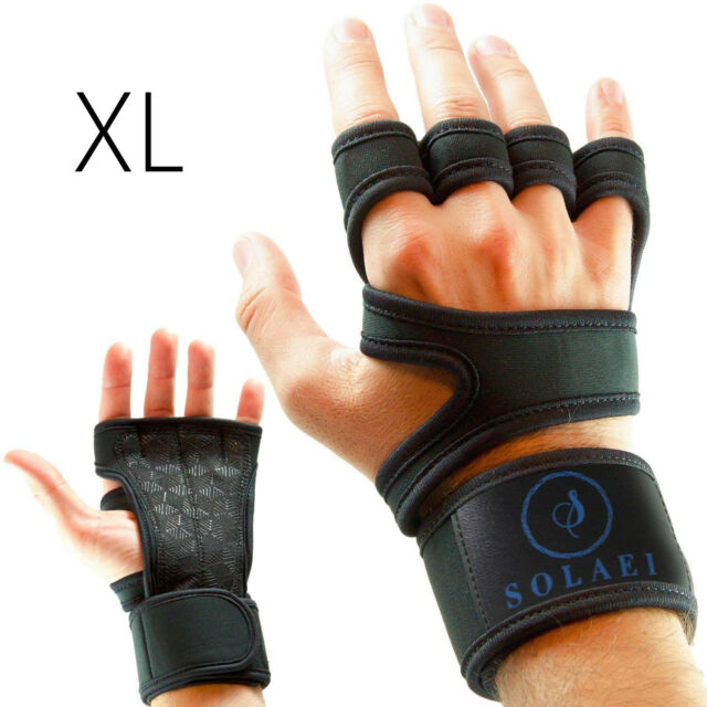 Fit Active Sports Weight Lifting Gloves MED Workout Gym Cross Training Pull Ups