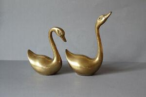 Harz Schwan Liebhaber Statue Tier Swan Skulptur Figur Home Office Decor