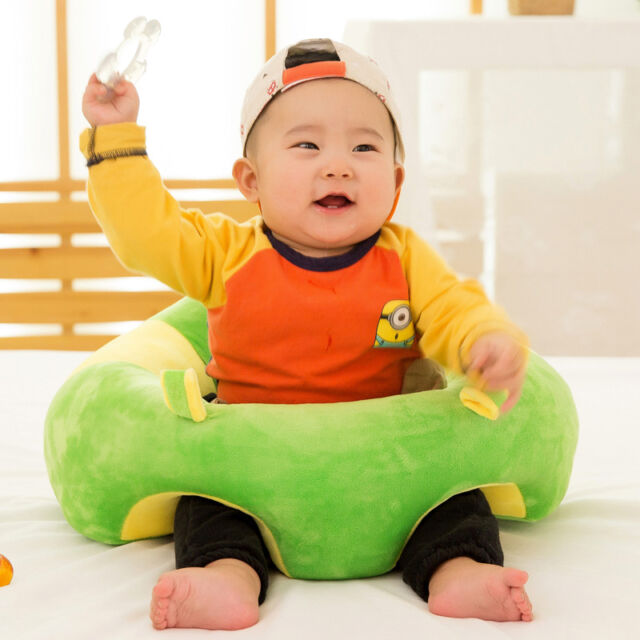 Baby Learn To Sit Up Support Seat Soft Chair Cushion Sofa