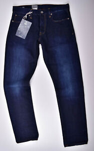 G-Star-RAW-3301-Tapered-Jeans-W34-L32-Blau-Herrenjeans