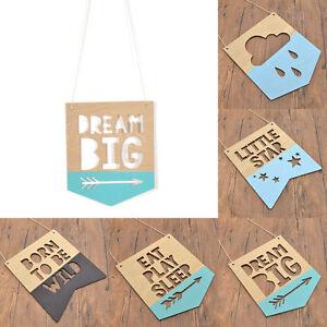 Hanging-Varie-Forme-Letters-Autocollants-en-Bois-Murale-Deco-Plaque-Signe-Maison