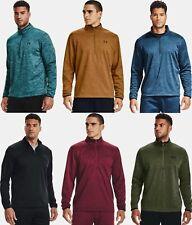 Under Armour Men's UA Armour Fleece 1/2 Zip Long Sleeve T-Shirt - 1357145