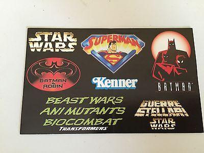 KENNER 1997 booklet catalogue beast wars transformers star wars etc hasbro