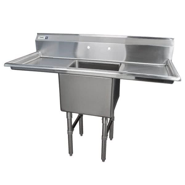 54 Stainless Steel One Compartment Commercial Nsf Restaurant Kitchen Sink For Sale Online