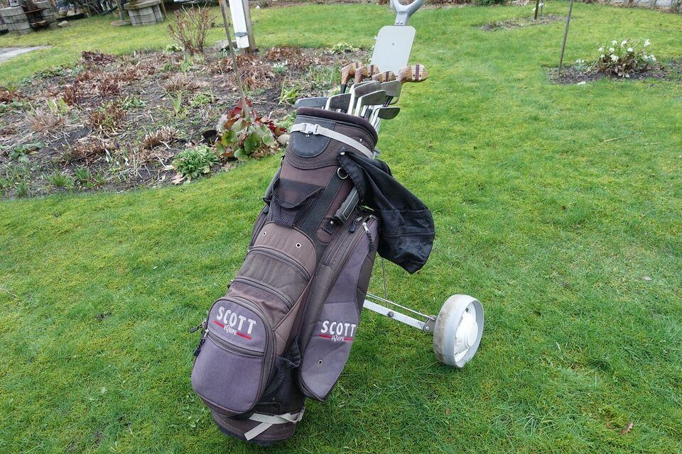 Andet golfsæt, stål, Scott