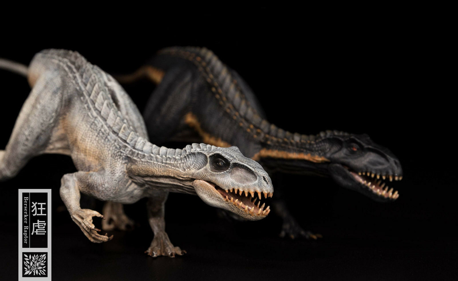 Indoraptor bild - statue dinosaurier - modell sammler dekor geschenk zwei farbe