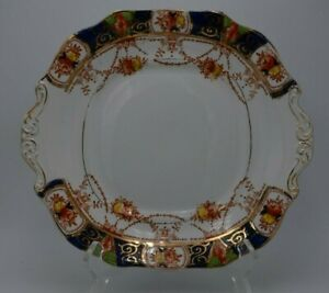 Vintage-Burgess-Bros-Longton-England-Carlisle-Ware-Numbered-Platter