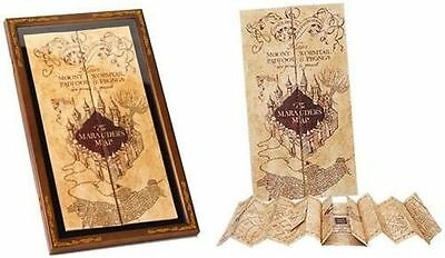 Harry Potter: New Official Warner Bros Marauders Map And Display Case Set