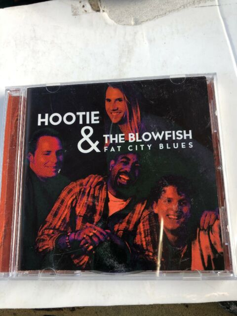 Hootie And The Blowfish- Fat City Blues- Mint Condition CD-1995 PA Silver Disc