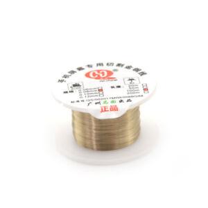 0-08mm-100m-Cutting-Wire-Splitter-LCD-Screen-All-Cellphone-Gold-Molybdenum-LineF