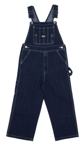 Key Industries Childrens Dungarees Stonewash Age 418 Denim Dungarees Overall