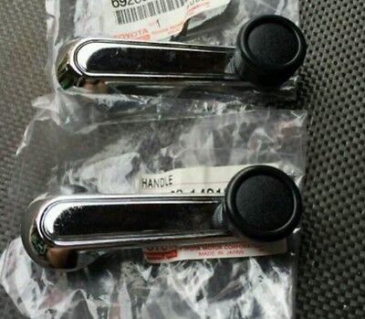 Ke10 ke17 te21 te27 Corolla NEW NOS GENUINE TOYOTA pair of window crank handles