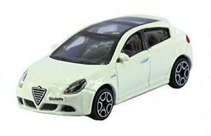 Nuevo-Coche-Modelo-Diecast-Burago-1-43-Alfa-Romeo-Giulietta-5dr-en-Blanco