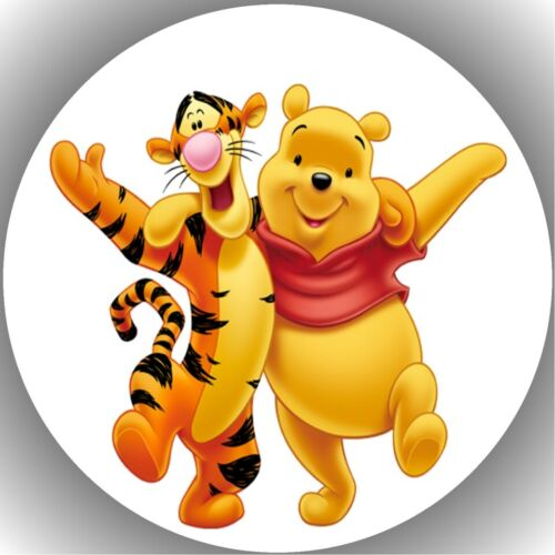 Tortenaufleger mit Wunschmotiv Tortenbild Fondant Oblate Winnie Pooh  P67