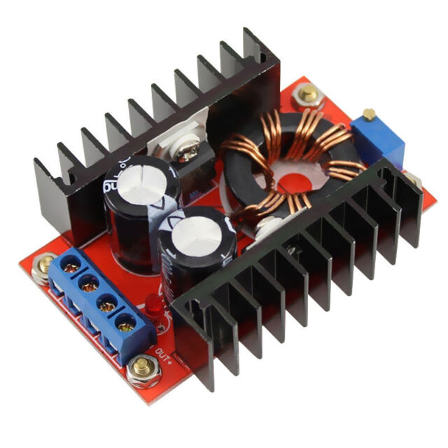 150W DC-DC Boost Converter 10-32V to 12-35V 6A Step Up Power supply module B3A7