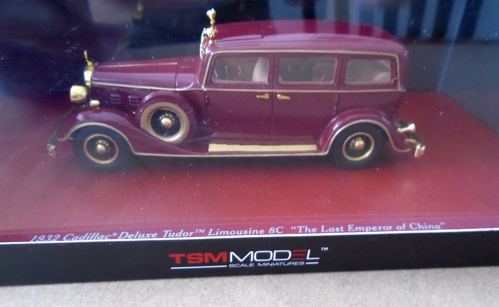 TSM 1 43 1932 Cadillac Deluxe Tudor Limousine 8C Emperor NEW